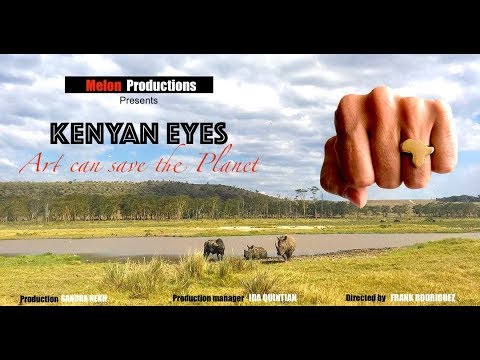 Kenyan Eyes - Art can save the planet