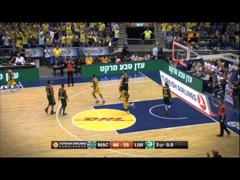 Play of the night: Marquez Haynes, Maccabi Electra Tel Aviv