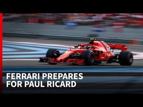 Ferrari prepares for F1's return to Paul Ricard