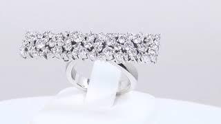 【初霜~はつしも~】Pt900 ダイヤモンド リング