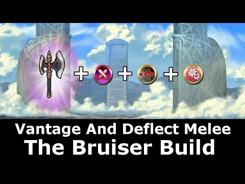 [FEH] The Hauteclere Bruiser Build. Vantage And Deflect Melee Are A Powerful Combination.