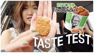 KFC Beyond Fried Chicken Taste Test | WahlieTV EP762