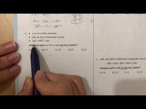 345 Yayınları TYT Basamak Kavramı Test-3 Anlatımlı Çözümleri
