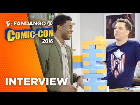 Black Panther, Chadwick Boseman Interview - COMIC CON (2016