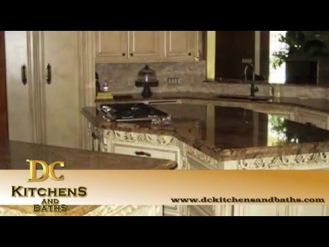 Custom Kitchen Cabinets in The Woodlands Texas - Custom Kitchen Cabinet Maker DC Kitchens and Baths