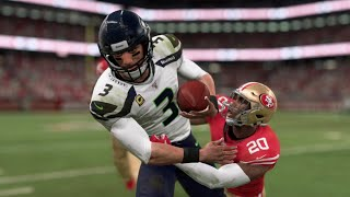 NFL Monday Night Football 11/11 San Francisco 49ers vs Seattle Seahawks Week 10 – Madden 20