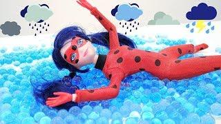 Miraculous Ladybug muñecas y Tormentosa. Vídeos para niñas.