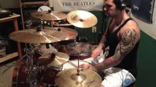 Battles - Racein drum cover