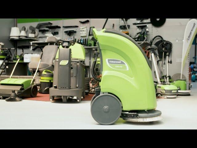 CLEANCRAFT – SSM410 Scrubber dryer