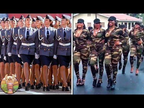Plus Belles Forces Armées Féminines Du Monde !