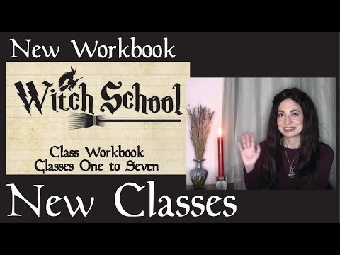 New Classes, New Workbook, New Webpage - Witch School Updates