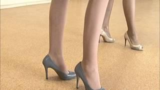 Как ходить на каблуках