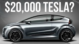 Tesla's $20,000 Compact Car Is Coming Soon - The End of Gas