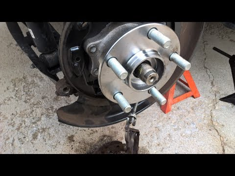rear wheel bearing hub replacement on 2013 Subaru XV Crosstrek