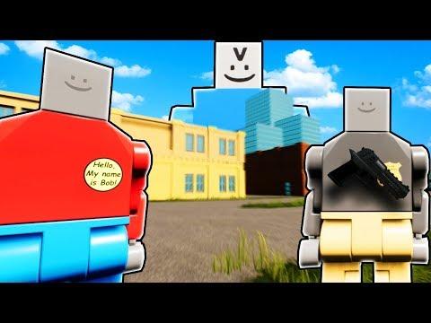 BAD BOB LEGO CRIME SCENE INVESTIGATION! (Brick Rigs Gameplay Roleplay) Lego Race Investigation!