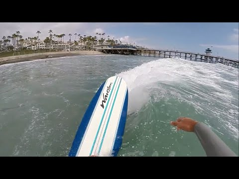 Surfing San Clemente With The Wavestorm