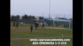 preview picture of video 'ΑΕΛ-ΟΜΟΝΟΙΑ 1-2 U15 VIDEO'