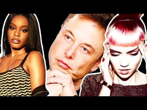 Azealia Banks Shares TEXTS About Grimes and Elon Musk