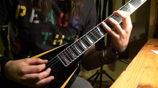 Children Of Bodom - Wrath Within solos cover + NEW CAM POS