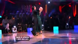 dwts apolo julianne w9