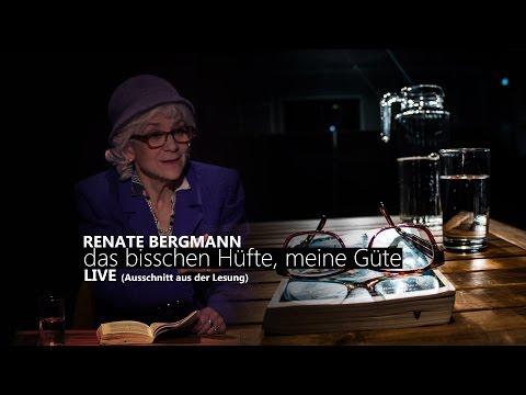 """Renate Bergmann [LIVE] - """"Das bisschen Hüfte meine Güte"""""""