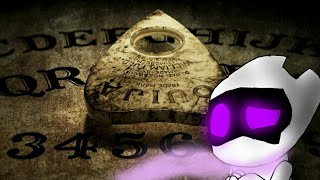 EnderBot Reactions || Scary Ouija Board Story ||