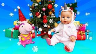 Peppa Wutz und die Baby Born Puppe - Weihnachten steht vor der Tür