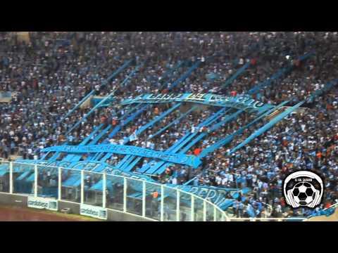"""Belgrano 0 Rafaela 0 - Compacto e hinchada."" Barra: Los Piratas Celestes de Alberdi • Club: Belgrano"
