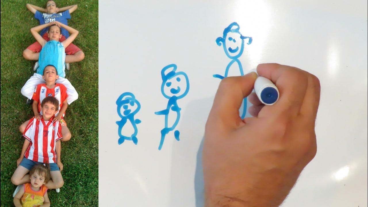Draw my life - Familyman