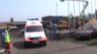preview picture of video 'WYPADEK MASOWY 2009 CZ. 5 - Kazimierza Wielka'