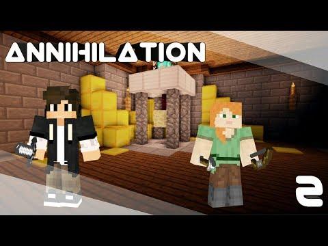 Minecraft - hrajeme Annihilation #2