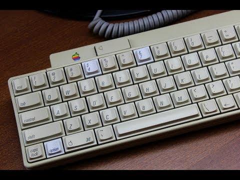 Apple IIgs keyboard review  (SMK 2nd generation tactile)
