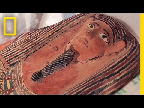 Stolen 2,600-Year-Old Sarcophagus, Other Artifacts Return to Egypt | National Geographic thumbnail
