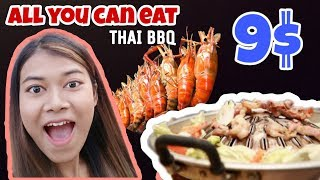 BEST All you can eat Thai BBQ in Bangkok Thailand