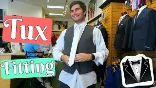 Wedding Tux Shopping For The Groom & Groomsmen!