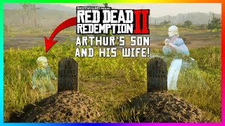 The SECRET Mission Reveals The Location Of Arthur's Son & Wife Grave Sties In Red Dead Redemption 2!