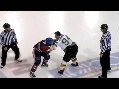 Mathieu Curadeau vs. Sylvain Deschatelets