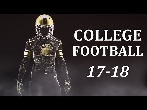 College Football Pump Up 2017-18 -