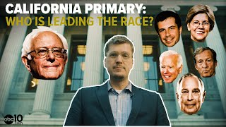 California Primary 2020: Which Democrats are leading the presidential race?