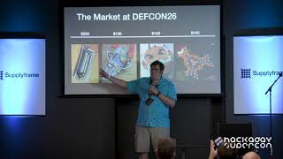Hackaday Supercon - Kerry Scharfglass : The Economics of Conference Badges at Medium Scale