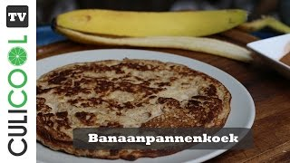 Easy Peasy banaan pannenkoek