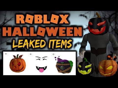 roblox halloween 2018 leaked hatsfacesgear