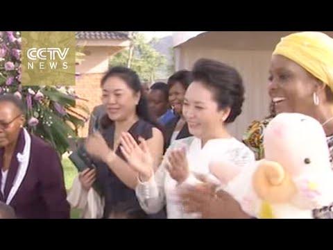 Peng Liyuan, China's First Lady, visits Zimbabwean orphans