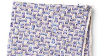 Crochet Baby Mosaic Blanket Pattern