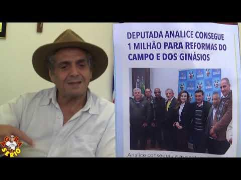 Presidente da Câmara Vereador Irineu Machado diz: