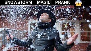 Snow Storm Magic Prank ❄️ -Julien Magic Rep.