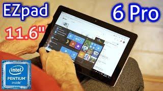Jumper EZPad 6 Pro Windows 10 Tablet REVIEW - N3450, 6GB RAM