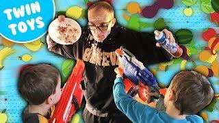 Nerf War:  Food Fight 2