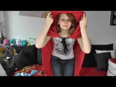 Rotkäppchen Kostüm Teil 1! Der Umhang - Nerdy Workshop - NinNin