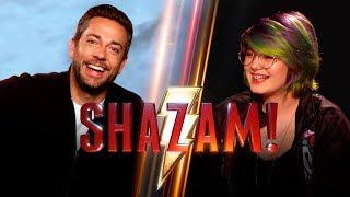 Entrevista al Elenco de Shazam!: Zachary Levi, Asher Angel, Jack Dylan Grazer y Mark Strong